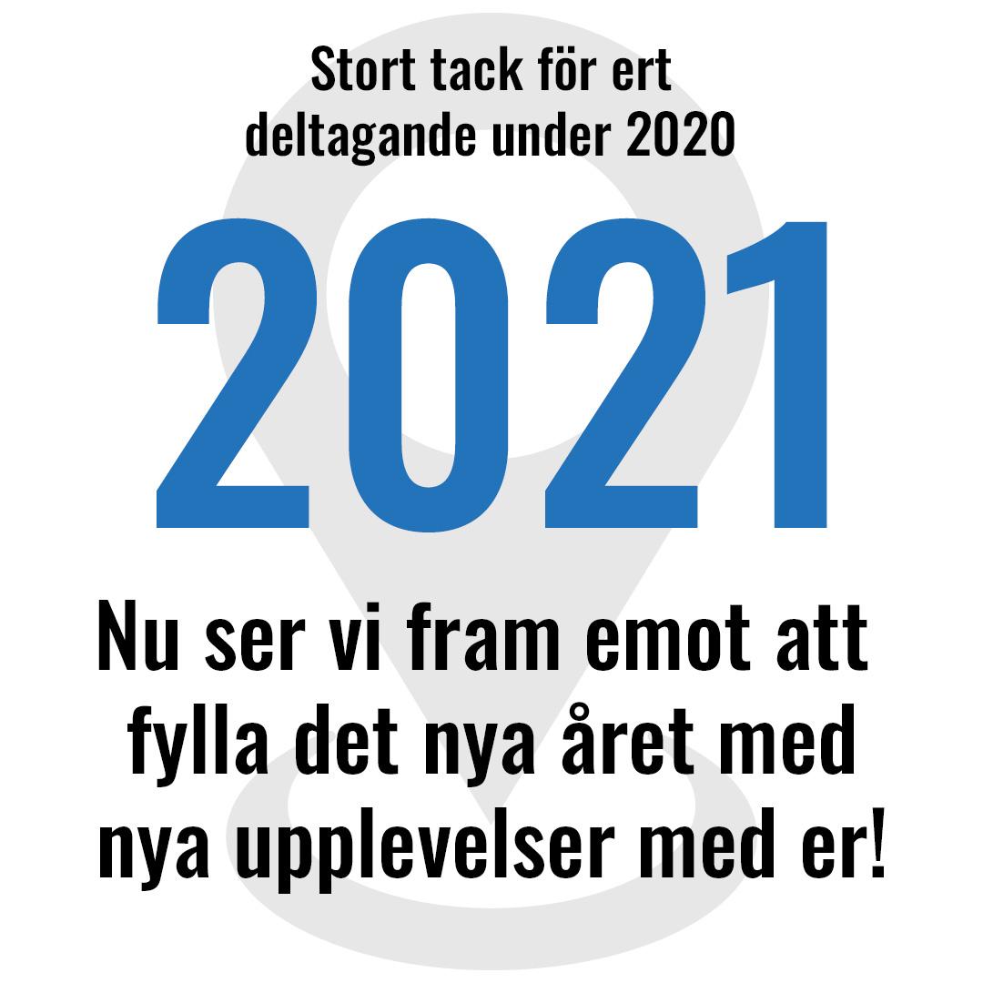 Stort tack för ert deltagande 2020 — nu ser vi fram emot 2021!