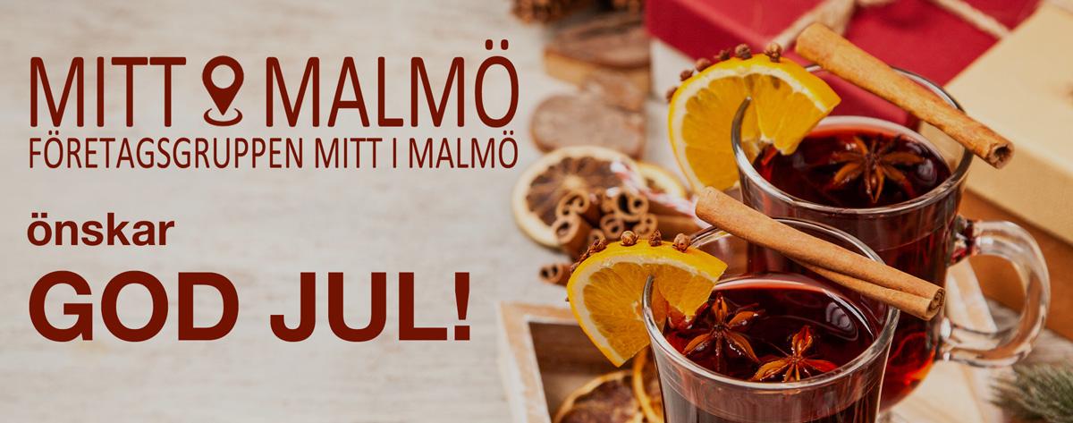 Mitt i Malmö önskar God Jul, och planerar upp för det nya året!