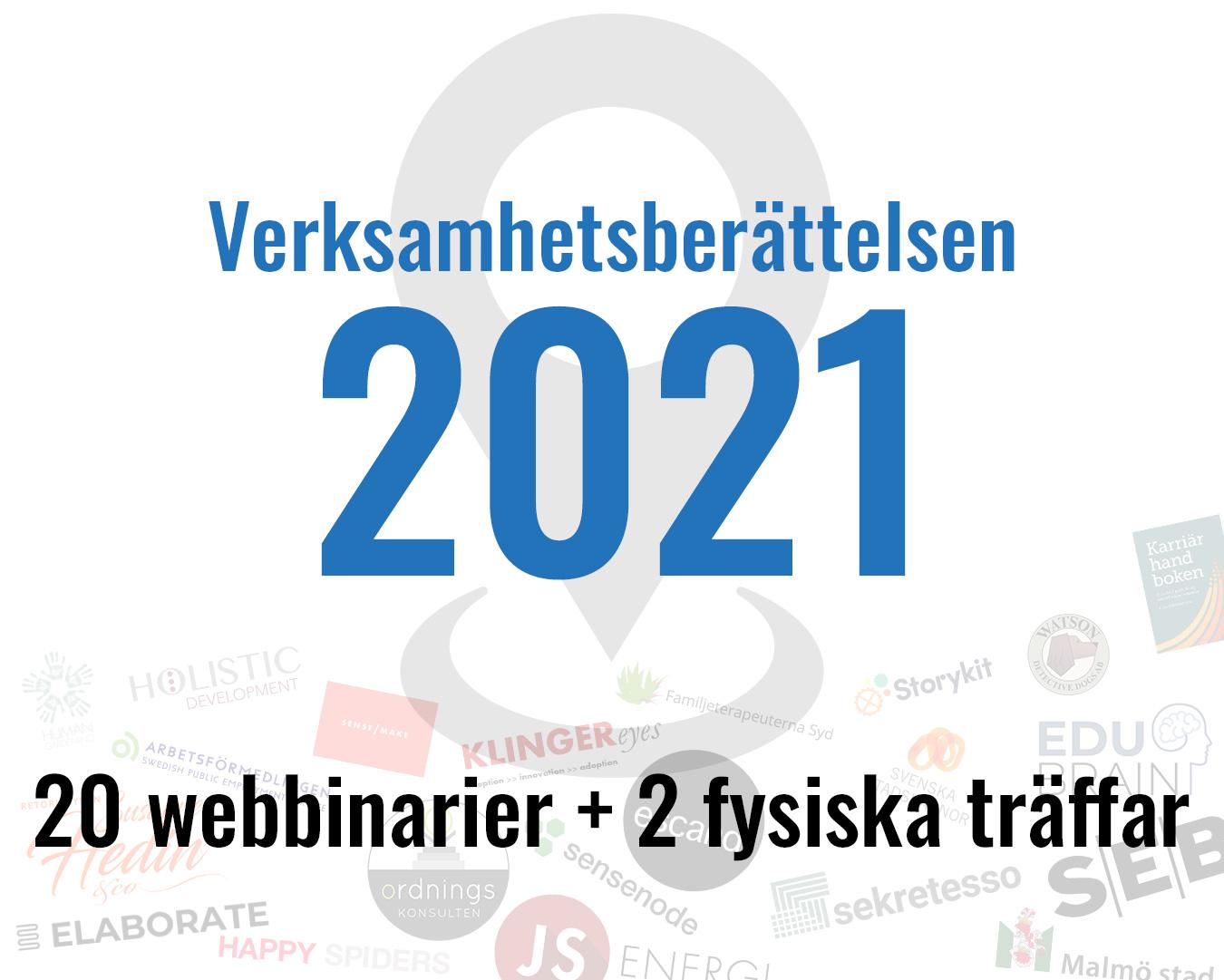 Verksamhetsberättelsen 2021 finns tillgänglig